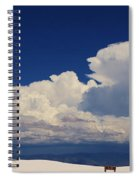 Summer Storms Over The Mountains 4 Spiral Notebook
