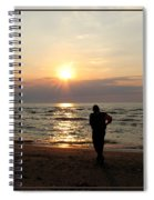 Summer Sunset Solitude Spiral Notebook