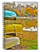 Summer's Over Spiral Notebook