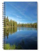 Summit Lake Blues Spiral Notebook