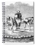 Sumo Wrestling, 1853 Spiral Notebook