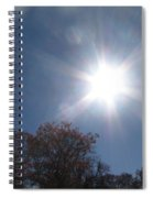 Sun Beams Spiral Notebook
