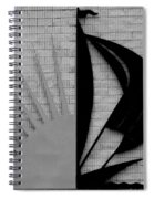 Sun And Sail Spiral Notebook
