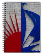 Sun And Sails Spiral Notebook