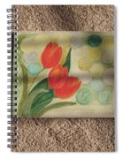 Sun And Tulips Spiral Notebook