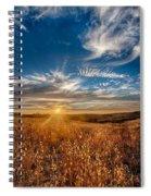 Sun Enchanted Evening I Spiral Notebook
