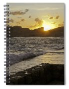 Sun Going Down Over Dubrovnik Spiral Notebook