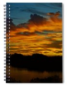 Sun Kissed Sky  Spiral Notebook