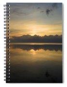 Sun On The Horizon Spiral Notebook