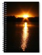 Sun Ray Spiral Notebook