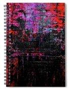 Sun Rise On Fire Spiral Notebook