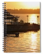 Sun Rising Spiral Notebook