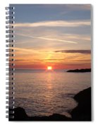 Sun Up On The Up Spiral Notebook