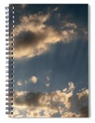 Sunbeams From Heaven Spiral Notebook