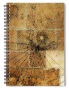 Sundial 1 Spiral Notebook