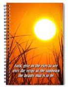 Sundown Beauty Spiral Notebook