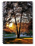 Sundown In Stanley Park Spiral Notebook