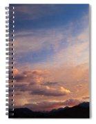 Sundown On The Sierras Spiral Notebook