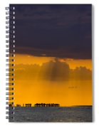 Sundown Over Sanibel Spiral Notebook