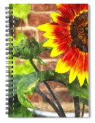 Sunflower 2 Sf2wc Spiral Notebook