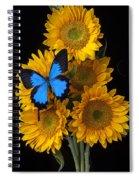 Sunflower Bouquet  Spiral Notebook