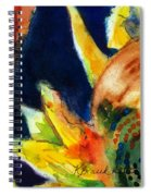 Sunflower Head 3 Spiral Notebook