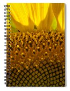 Sunflower Macro Spiral Notebook