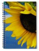 Sunflower One Spiral Notebook