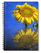 Sunflower Reflection Spiral Notebook