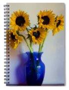 Sunflower Still Life Spiral Notebook