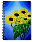 Sunflowers 1 Spiral Notebook