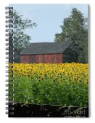Sunflowers 8 Spiral Notebook