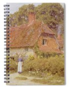 Sunflowers By Helen Allingham Spiral Notebook