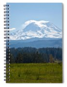 Sunny Rainier Spiral Notebook