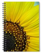 Sunny Summer Sunflower Spiral Notebook