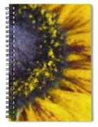 Sunny Yellow Spiral Notebook