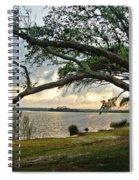 Sunrise Across The Lagoon Spiral Notebook