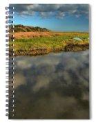 Sunrise At Brooks Island Refuge Spiral Notebook