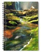Sunrise At Elakala Falls Spiral Notebook