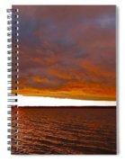Sunrise At Ile-bizard ...  Spiral Notebook