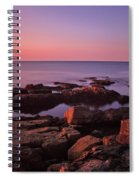 Sunrise At Otter Point Spiral Notebook