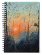 Sunrise At Pike Road Spiral Notebook