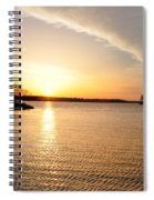 Sunrise At St Michaels Spiral Notebook