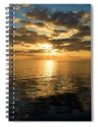 Sunrise At The Banks Spiral Notebook