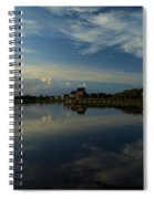 Sunrise At The Outer Banks Spiral Notebook