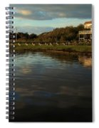 Sunrise At The Shore Spiral Notebook