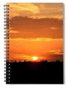 Sunrise August 1 2012 Spiral Notebook