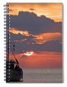 Sunrise In Crete Spiral Notebook