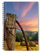 Sunrise Lasso Spiral Notebook