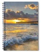 Sunrise Lights Spiral Notebook